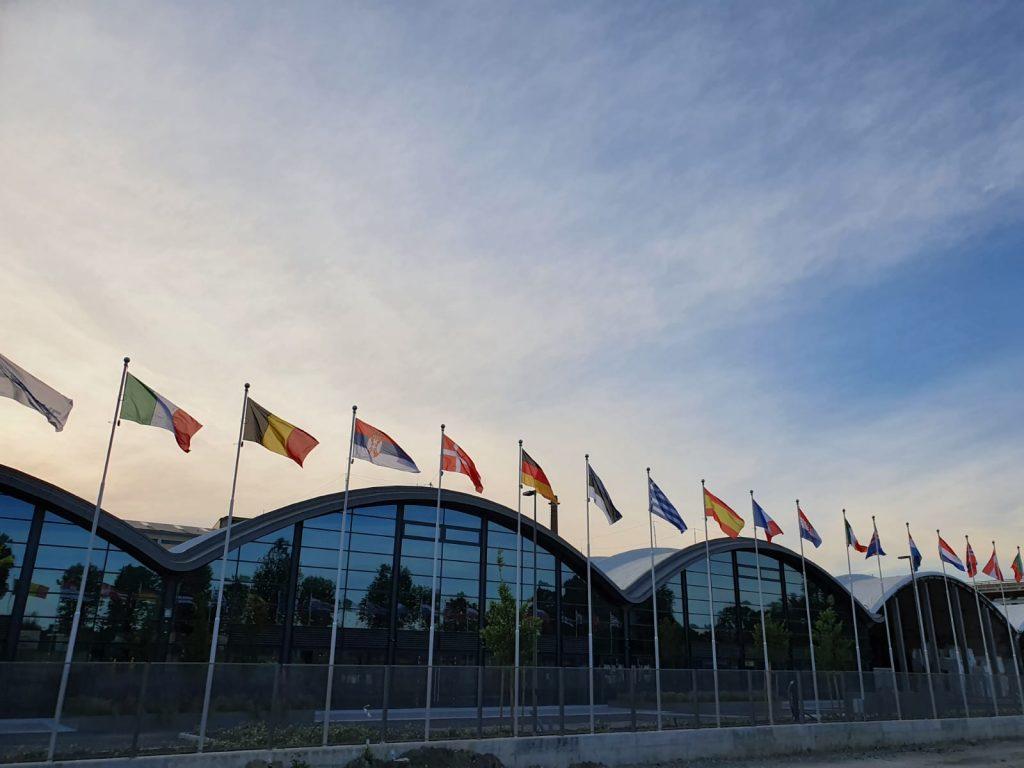 Le officine progettate negli anni 50 dall'architetto Nervi sono pronte a cambiare vita. Ospiteranno centri di calcolo e supercomputer. Foto Regione Emilia-Romagna